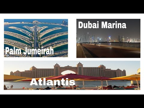 DUBAI | SIGHTSEEING IN PALM JUMEIRAH | ATLANTIS | PALM ISLANDS | JUNE 26, 2020 | DHON2 GENOVE