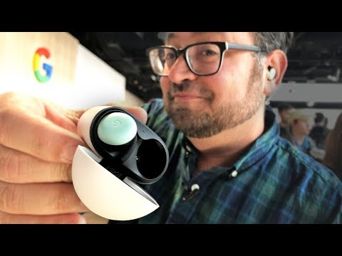 Google's Pixel Buds 2 hands-on first impressions