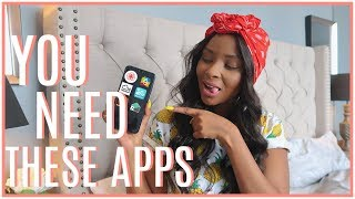 6 UNUSUAL APPS EVERYONE SHOULD HAVE! | NANCIE MWAI