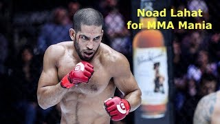 Noad Lahat Promises Fireworks Against Darrion Caldwell