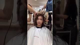 台北燙髮東區快刀手新韓式無痕髮根燙