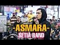 Asmara-Setia band  Haziq vocalis puter band jammimg dengan Sentuhan