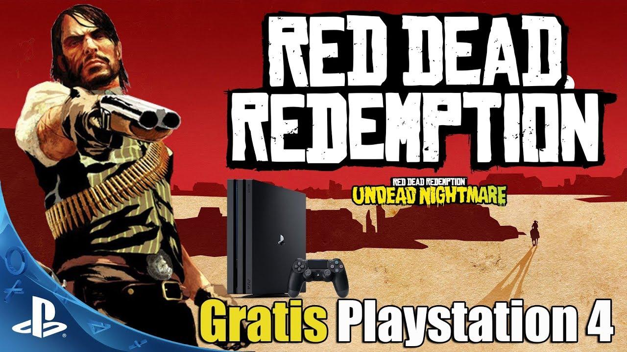 Red Dead Redemption En Ps4 Gratis Tutorial Y Muchos Mas Juegos