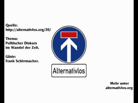 Der politische Diskurs im Wandel der Zeit (Alternativlos - Folge 20, 23.10.2011)