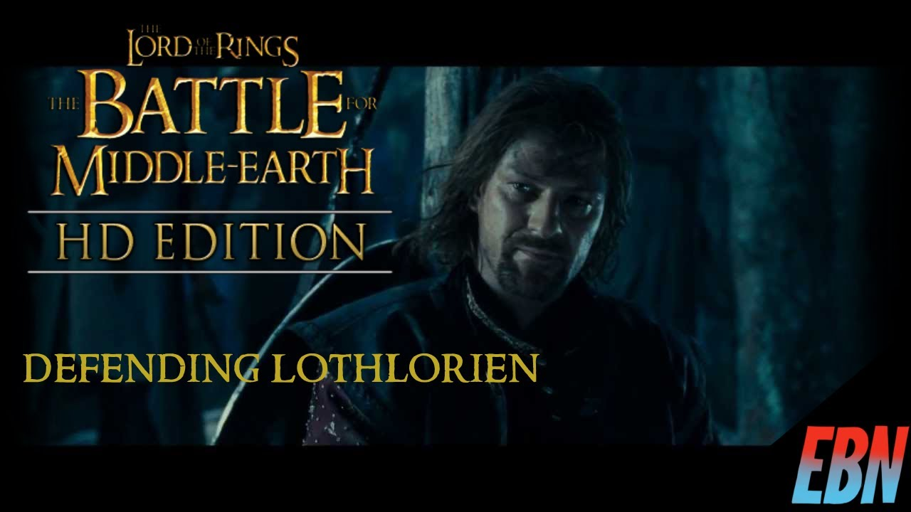 The Defense of Lothlórien - The Battle For Middle Earth: Good Campaign (HD Edition)