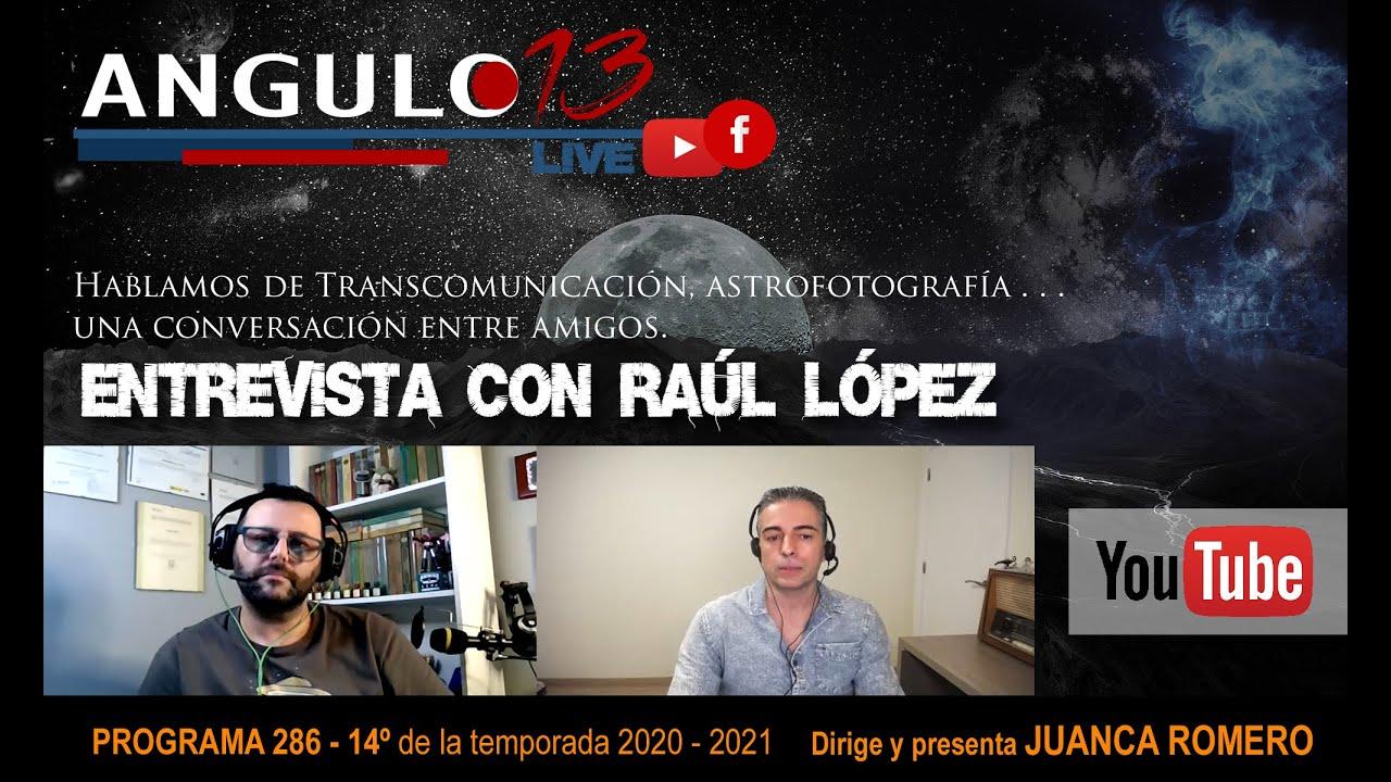 Hablamos de transcomunicación en ANGULO13