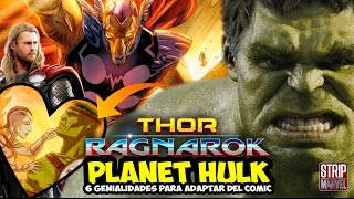 6 Cosas de PLANET HULK para THOR: RAGNAROK | Strip Marvel