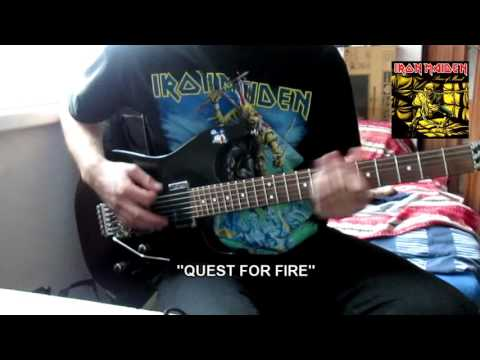"Iron Maiden - ""Quest For Fire"" cover"