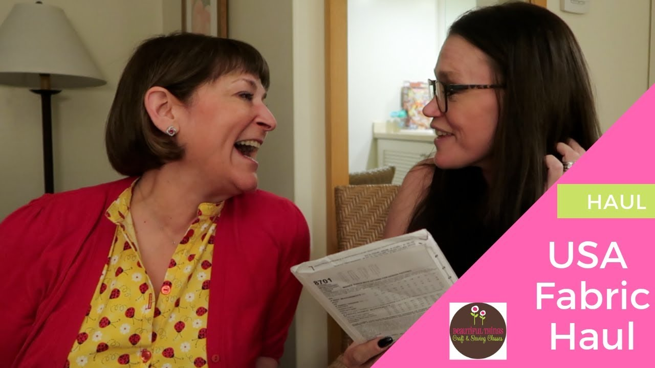 US Fabric & Craft haul with Loriann | Hobby Lobby & Joanns | SEWING & CRAFTS