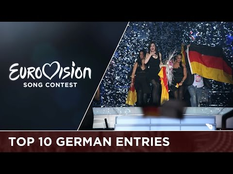 Top 10 : Entries from Germany