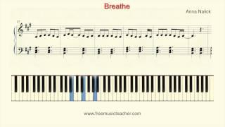 """How To Play Piano: Anna Nalick """"Breathe"""" Piano Tutorial by Ramin Yousefi"""