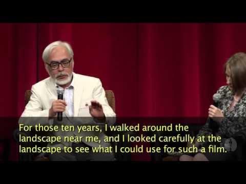 Hayao Miyazaki: Developing a Character