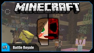 Gold Team Rules!    Minecraft Battle Royale PvP (w/ Hermits & Friends) [#1]