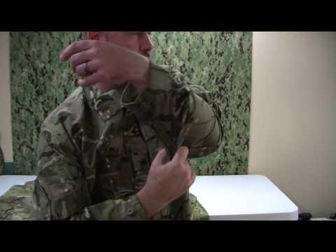 British MTP temperate combat shirt.