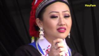 Sacramento Hmong New Year 2016 - 2017 - Hnub Qub Xyooj from MN singing