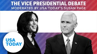 Vice Presidential Debate 2020 (FULL): Mike Pence and Kamala Harris face off in SLC | USA TODAY