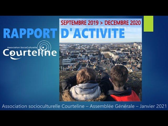 Rapport d'activité 2019 - 2020