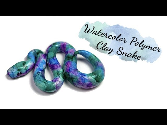 Customizable Clay Snake