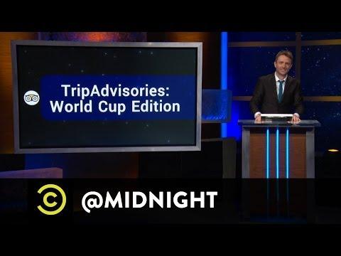 Erin Foley, The Sklar Brothers  TripAdvisories: World Cup Edition  @midnight w Chris Hardwick