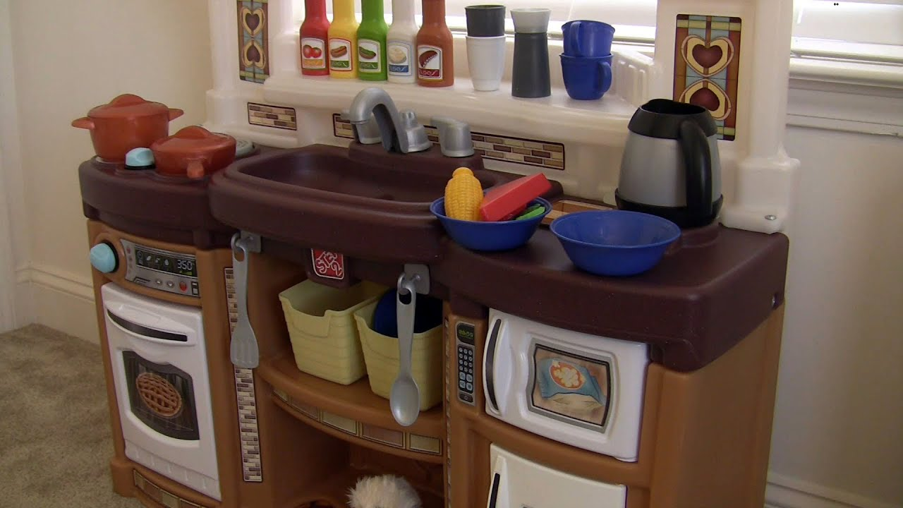 Beautiful Rise And Shine Kitchen By Step2 Neutral   YouTube Pictures