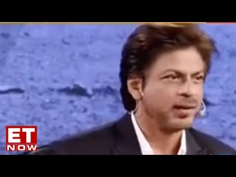 Shah Rukh Khan At Global Business Summit 2018 I ET NOW Exclusive