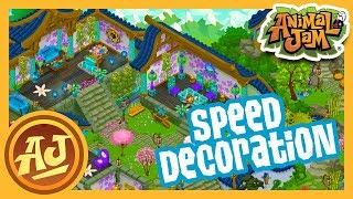 Garden Escape Speed Den Decoration! | Animal Jam