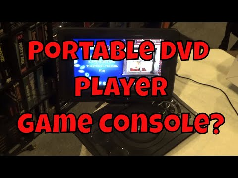 Portable DVD Player Game Console???