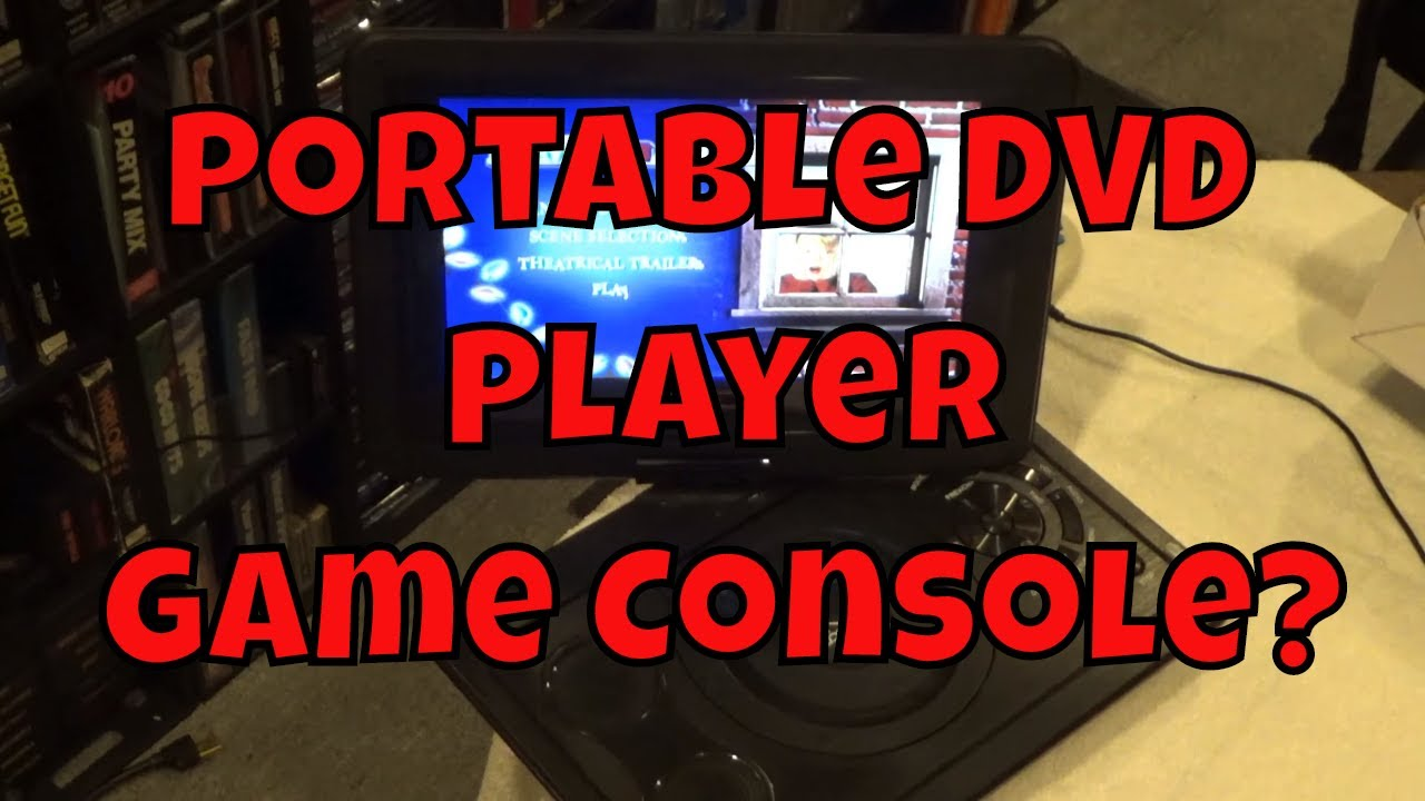 cooau portable dvd player games download