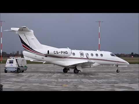 ✈ Phenomenal Phenom 300 CS-PHD Start Up & Departure From London Southend Airport