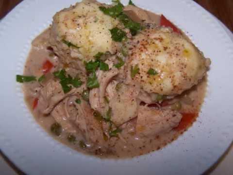 Chicken And Dumplings - Gluten Free Made In A Crock Pot