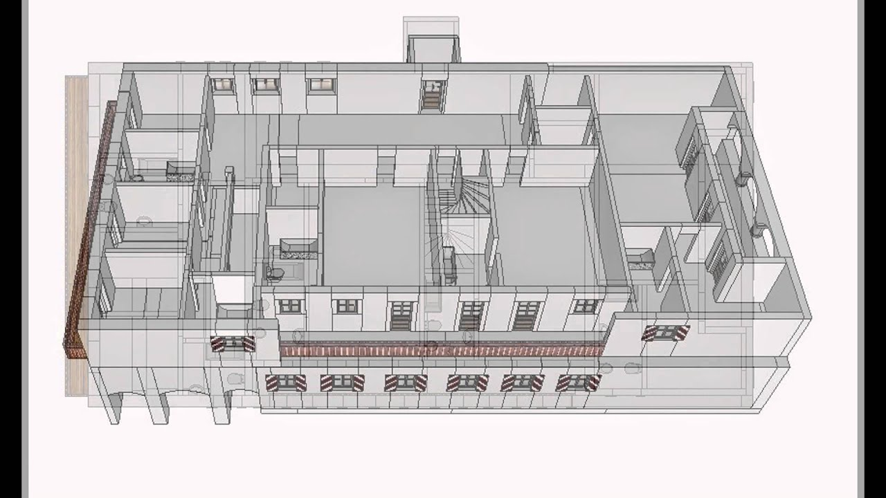 Mansion House Plans Adolf Hitlers Berghof After The Initial 1936