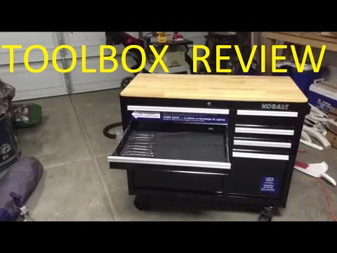 Kobalt 34  Inch 8 Drawer Tool Box Tool Chest