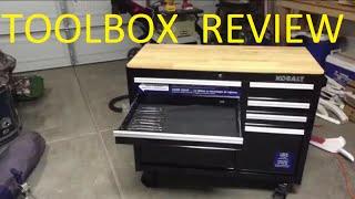 kobalt 34 5 x 41 inch 8 drawer tool box tool chest