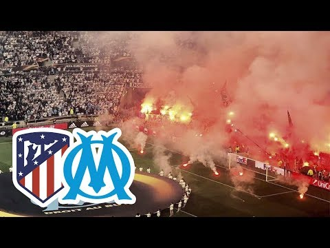 O.Marselha vs. Atlético de Madrid | Festa na Final da Liga Europa 16.05.2018