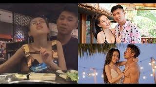 SỐC: Lương Bằng Quang thản nhiên sờ ngực khủng Ngân 98, tình tứ liếm môi nhau khi đang livestream