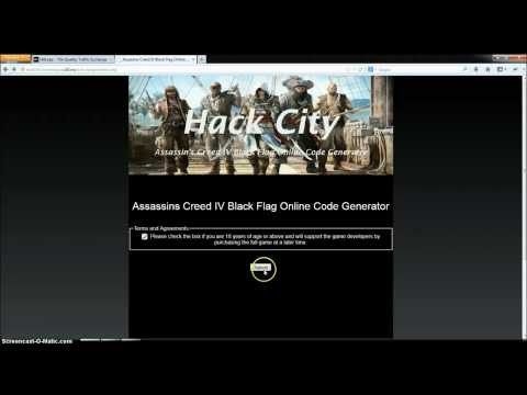 Assassin's Creed 4 Black Flag Online Code Generator [NO DOWNLOAD] [September 2013]
