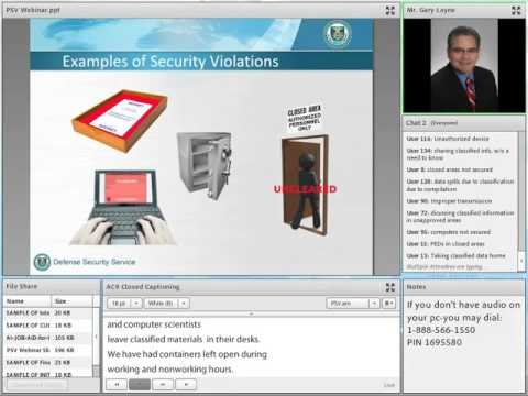 Processing Security Violations