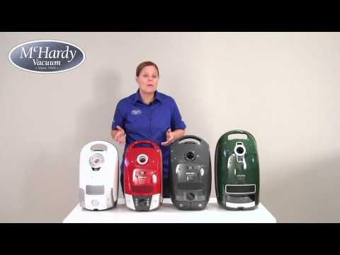 Miele Vacuum Comparison Review - C1, C2, C3