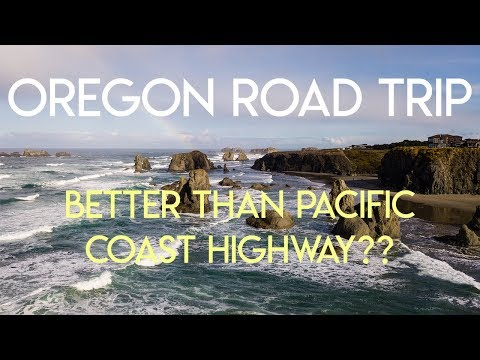 OREGON COAST ROAD TRIP | Better than Pacific Coast Highway? Part 1