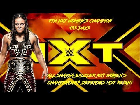 All Shayna Baszler NXT Women's Championship Defenses (1ST REIGN)