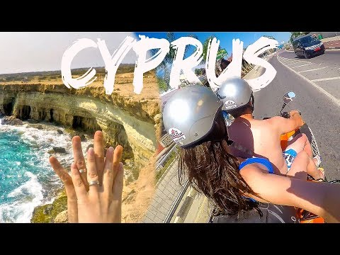 Travel Vlog Cyprus 2018 | Nissi Beach, Ayia Napa, Blue Lagoon, Konnos Beach | Pop in! It's Cristina