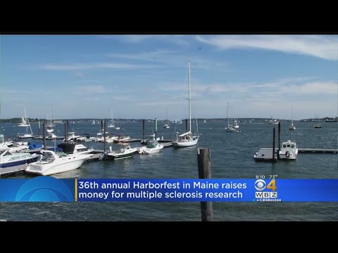 36th Annual MS Harborfest Held In Portland Harbor