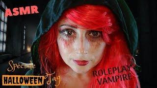 ASMR Francais Une Vampire Farfelue  🧛♀️ Epouvantag d'Halloween 🎃