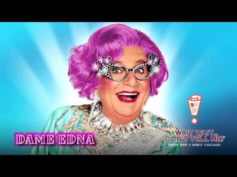 Dame Edna on NPR's