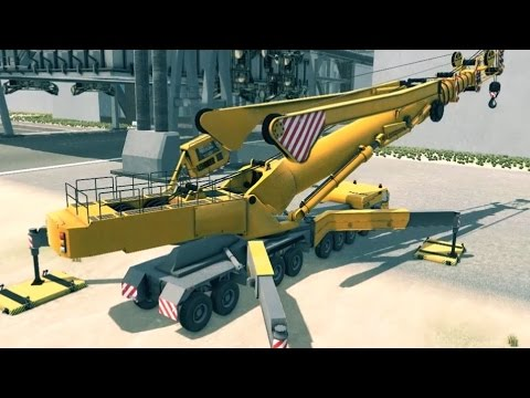Giant Machines 2017 - Mobile Crane Gameplay (PC HD) [1080p60FPS]