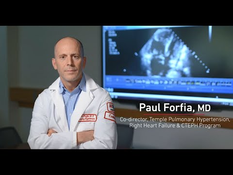 Effectively Treating CTEPH With PTE Surgery - Dr. Paul Forfia   Temple Health