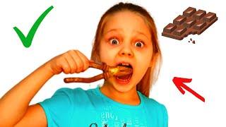 ШОКОЛАД челлендж, съедобное как шоколад, шоколадный челлендж
