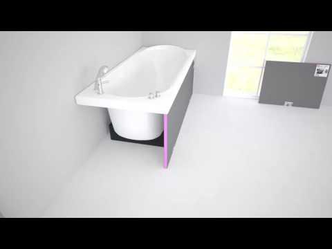 wedi de l sungen wand wc montage mit dem i board doovi. Black Bedroom Furniture Sets. Home Design Ideas