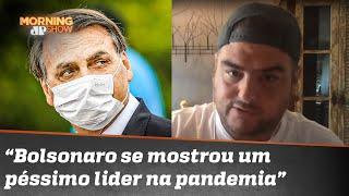 "Rica Perrone avalia governo Bolsonaro: ""Está ruim"""