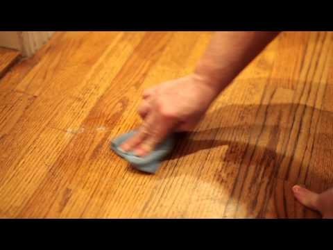 How to Get Scuff Marks Off of Parquet Wood Floors : Home Cleaning Tips